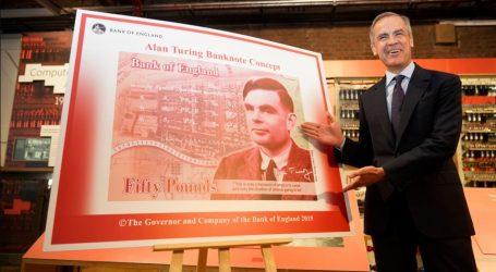 Το πορτρέτο του Άλαν Τούρινγκ στο βρετανικό χαρτονόμισμα των 50 λιρών
