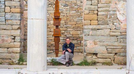 Εικαστική εγκατάσταση στον αρχαιολογικό χώρο της Δήλου από τον διάσημο καλλιτέχνη Άντονι Γκόρμλι