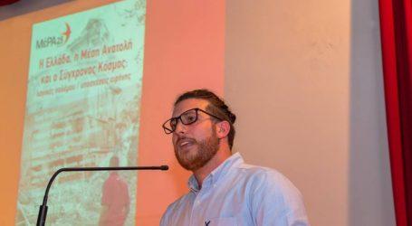 Έντμαν: Μόνο το ΜέΡΑ25 μπορεί να κάνει ρεαλιστική και σοβαρή αντιπολίτευση στην επανόρθωση της ολιγαρχίας
