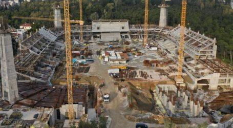Απεργία στο εργοτάξιο κατασκευής του γηπέδου της ΑΕΚ