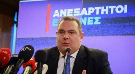 Καμμένος: Οι ΑΝΕΛ θα είναι οι εγγυητές της επόμενης μέρας σε μια κυβέρνηση εθνικής ενότητας