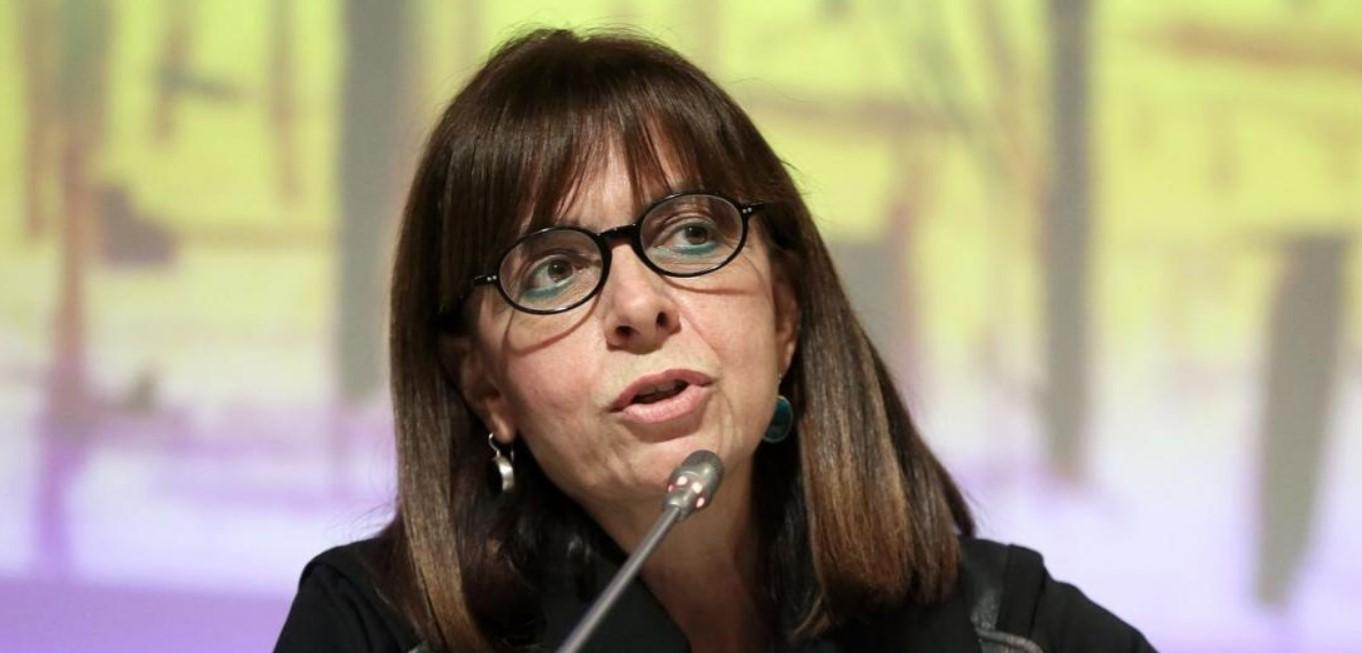 Εξελέγη Πρόεδρος της Δημοκρατίας η Αικατερίνη Σακελλαροπούλου: «Έχω πλήρη συνείδηση του βάρους που επωμίζομαι»