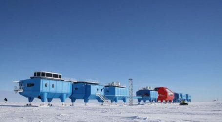 Ταξίδεψε στην Ανταρκτική για να ετοιμάσει το γεύμα των Χριστουγέννων