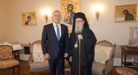 Συναντήσεις Αποστολάκη με τον Αναπληρωτή ΓΓ ΟΗΕ και τον Αρχιεπίσκοπο Αμερικής