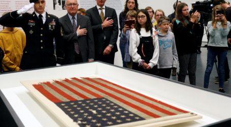 Σε δημοπρασία αμερικανική σημαία που υψώθηκε στην Απόβαση της Νορμανδίας