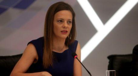 Αχτσιόγλου: «Ντροπιαστική» η αντίδραση της ΝΔ στην υπόθεση Novartis