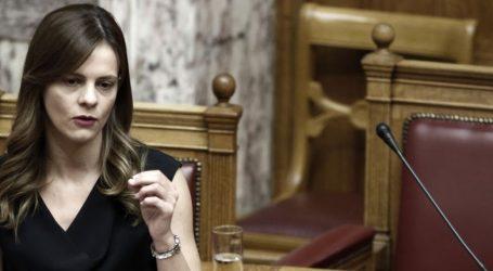 Αχτσιόγλου για Μοροπούλου: Είμαι περίεργη να δω αν τα δελτία θα επιδείξουν την ίδια ευαισθησία