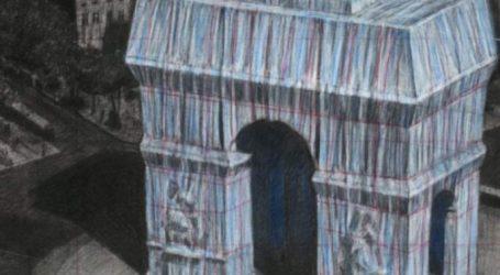 Ο Christo «ντύνει» την Αψίδα του Θριάμβου
