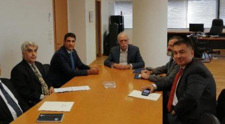 Με τον πρέσβη του Ιράκ συναντήθηκε ο Βίτσας