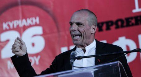 Βαρουφάκης: Μόνο η ψήφος στο ΜέΡΑ25 και στο ΚΚΕ είναι ψήφος αντίστασης στο 4ο μνημόνιο
