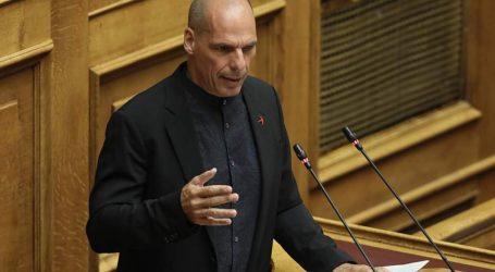 Βαρουφάκης: Δεν θα αφήσω τη ΝΔ να παρουσιάζεται ως τιμητής στα εγκλήματα που έκανε