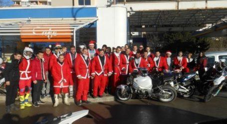 Βουλγαρία: Αη Βασίληδες μοτοσικλετιστές για καλό σκοπό
