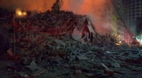 Βραζιλία: 44 αγνοούμενοι μετά την κατάρρευση ενός πολυόροφου κτιρίου