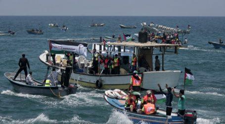 Ισραηλινά σκάφη αναχαίτισαν το παλαιστινιακό αλιευτικό που προσπάθησε να σπάσει τον αποκλεισμό της Γάζας