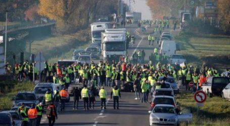 Γαλλία: 124.000 διαδηλωτές ενάντια στην αύξηση των τιμών των καυσίμων