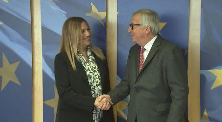 Συνάντηση Γεννηματά- Γιούνκερ: Στο επίκεντρο η ελληνική οικονομία και ο ρόλος της χώρας στα Βαλκάνια