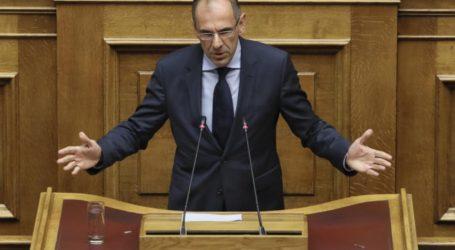 Γερααπετρίτης για το άρθρο σχετικά με την Επιτροπή «Ελλάδα 2021» – Παρέμβαση Βούτση