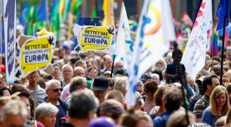 «Μια Ευρώπη για όλους – Η φωνή σου ενάντια στον εξτρεμισμό»: Διαδηλώσεις σε επτά μεγάλες πόλεις της Γερμανίας
