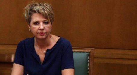 Στη Δικαιοσύνη προσφεύγει η Γεροβασίλη για τη χθεσινή ανακοίνωση της ΝΔ