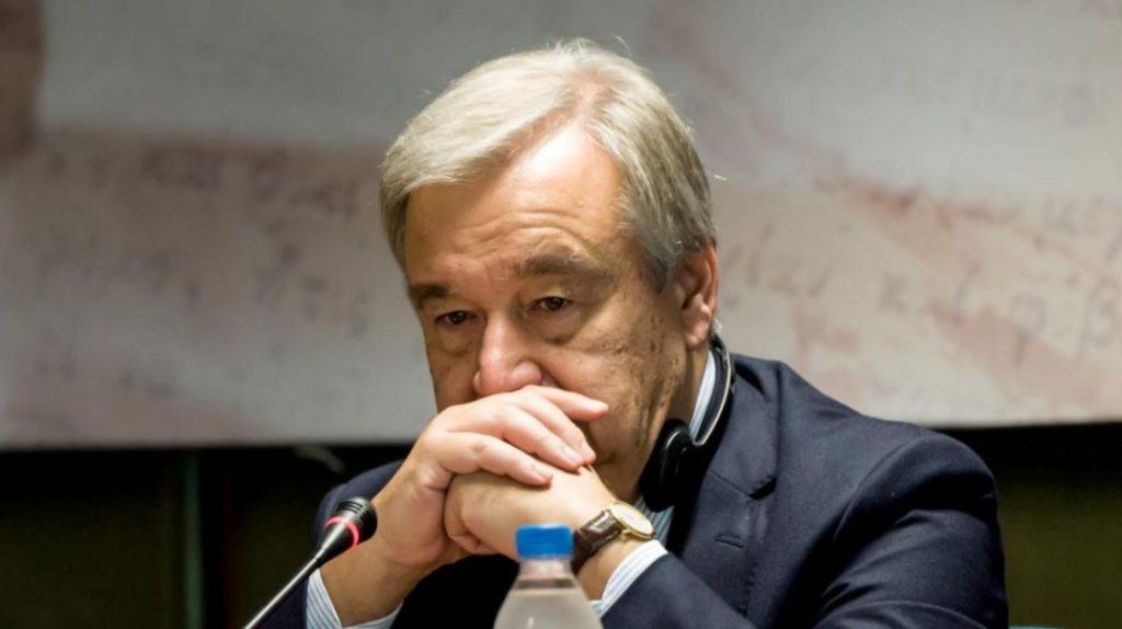 Ο γγ του ΟΗΕ Αντόνιο Γκουτέρες