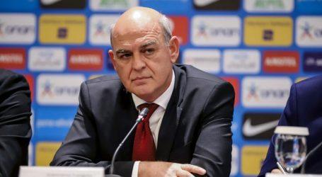 Πλάνο εκσυγχρονισμού παρουσίασε ο Γραμμένος στην FIFA