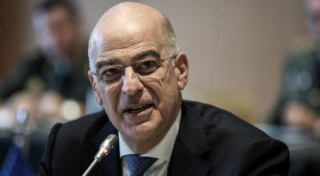 Δένδιας: Η Ελλάδα έτοιμη να συνεισφέρει στην επιχείρηση της ΕΕ για το εμπάργκο όπλων στην Λιβύη