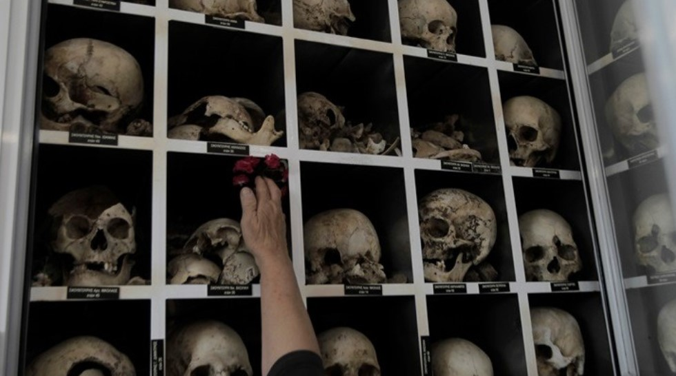 Η Σφαγή του Διστόμου μέσα από την συντήρηση των οστών των σφαγιασθέντων