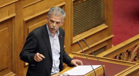 Δανέλλης: «Αντιτσιπρισμός« και «αντιΣΥΡΙΖΑϊσμός» δεν συνιστούν πολιτική πρόταση