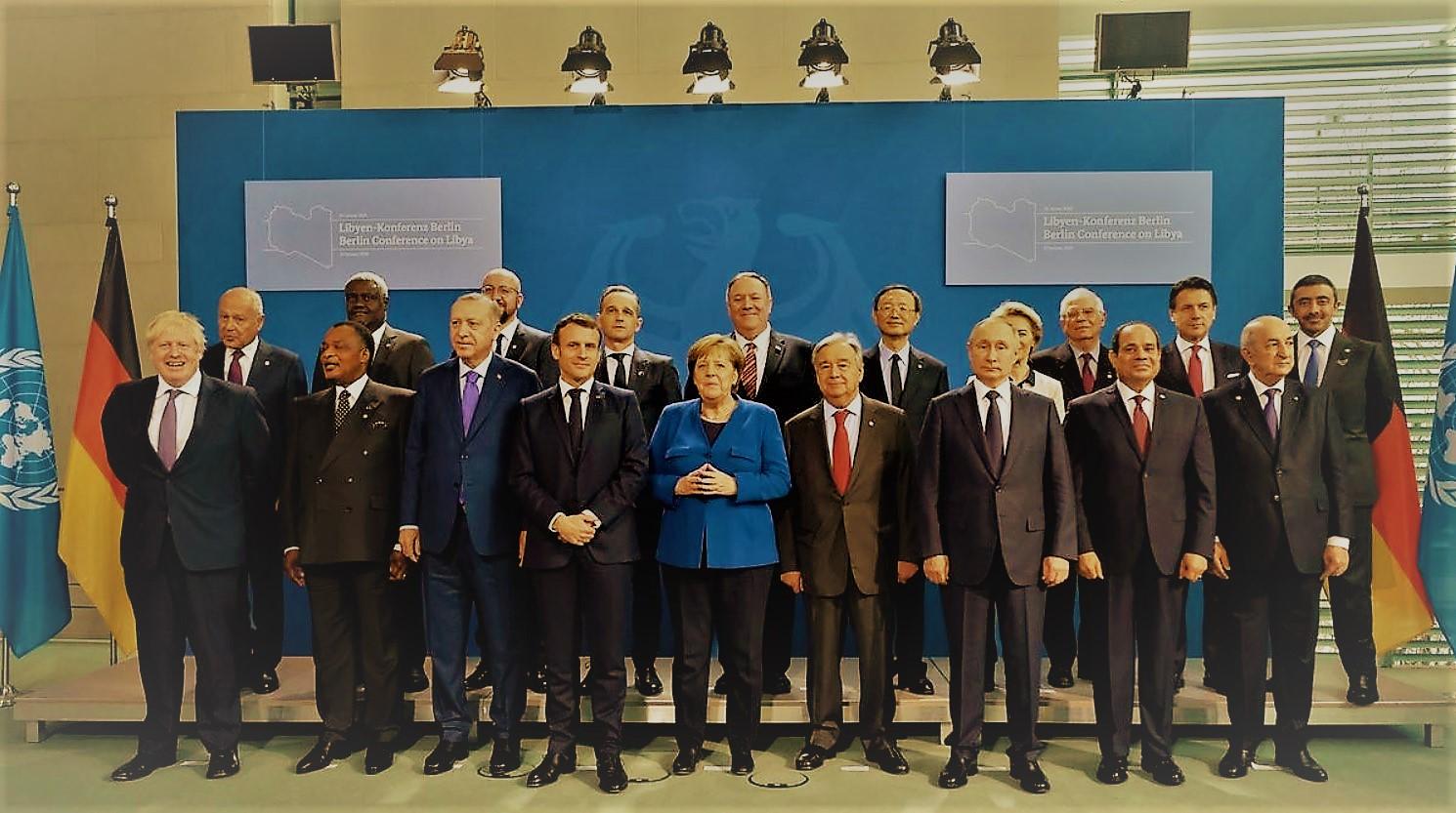 Διάσκεψη του Βερολίνου για τη Λιβύη: Κατάπαυση του πυρός και τήρηση του εμπάργκο όπλων (vid)