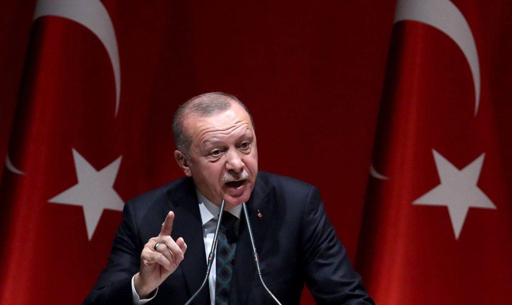 Ο πρόεδρος της Τουρκίας Ρετζέπ Ταγίπ Ερντογάν