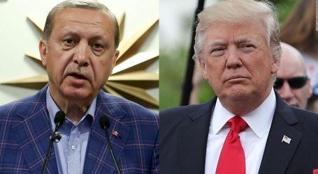 Ερντογάν σε Τραμπ: Η Τουρκία έτοιμη να πάρει τον έλεγχο της ασφάλειας στην Μάνμπιτζ