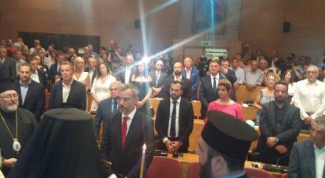 Ορκίστηκε ο Ζέρβας νέος δήμαρχος Θεσσαλονίκης