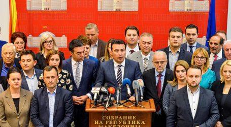 Ο Ζάεφ «πέρασε» από τη Βουλή την αναθεώρηση του Συντάγματος- «Το ταξίδι μας προς την ΕΕ και το ΝΑΤΟ μόλις ξεκίνησε»