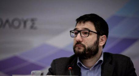 Νάσος Ηλιόπουλος: Εγκύκλιος Θεοδωρικάκου ουσιαστικά επιβάλει την συμμετοχή χρυσαυγητών στη διοίκηση του Δήμου Αθήνας