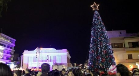 Σε χριστουγεννιάτικους ρυθμούς και το Ηράκλειο από σήμερα