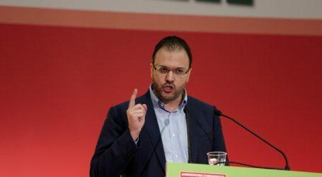 Θεοχαρόπουλος: Η ΔΗΜΑΡ πήρε μια καθαρή θέση σε ένα εθνικό θέμα αρχών