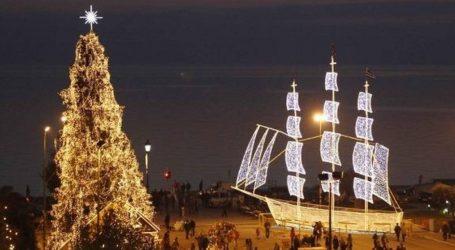 Μπαίνει σε ρυθμούς Χριστουγέννων η Θεσσαλονίκη