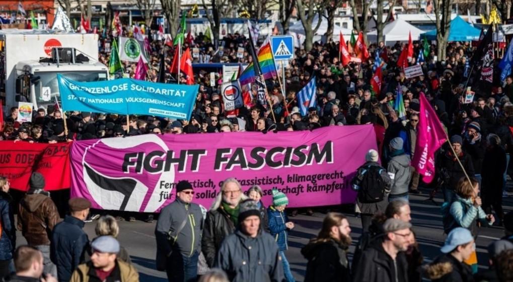 Θουριγγία εναντια στο φασισμό