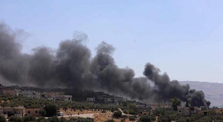 Ρωσικά και συριακά μαχητικά έπληξαν στόχους στο Ιντλίμπ