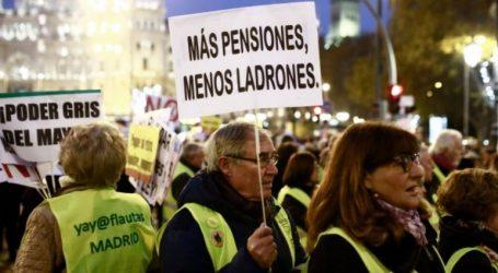 Ισπανία: Διαδηλώσεις συνταξιούχων σε πολλές πόλεις