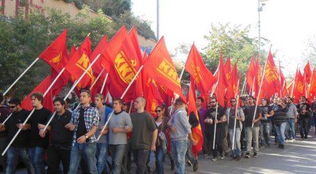 Συγκέντρωση του ΚΚΕ στο Σύνταγμα και πορεία προς την αμερικανική πρεσβεία
