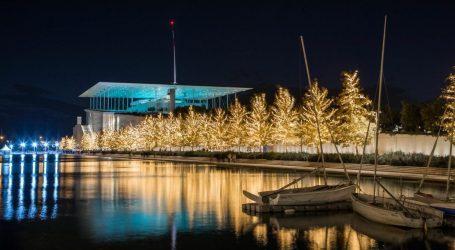 Χριστούγεννα στο ΚΠΙΣΝ: Παγοδρόμιο, σέλφι στις φωτεινές τραμπάλες και αχνιστή σούπα από