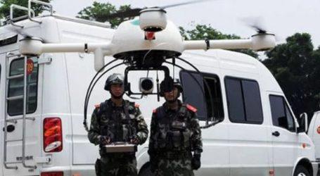 Η Κινεζική αστυνομία κάνει χρήση drones