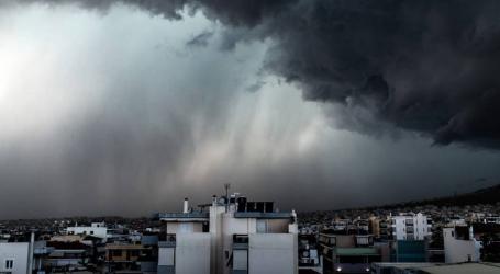 Βροχές, καταιγίδες και χιονοπτώσεις στα ορεινά της ηπειρωτικής χώρας