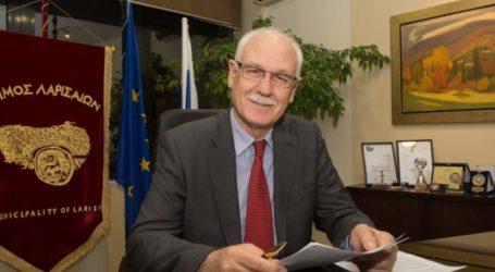Επανεκλέχθηκε δήμαρχος Λαρισαίων ο Καλογιάννης