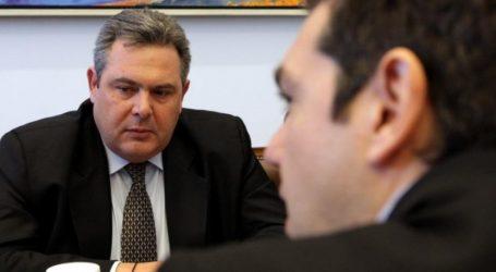 Τσίπρας- Καμμένος: Λίγο πριν τη συνάντησή τους o υπουργός Άμυνας ρίχνει τους τόνους στις διενέξεις με τον ΣΥΡΙΖΑ