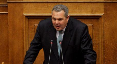 Καμμένος: Τσίπρας και Μητσοτάκης παραδίδουν τη Μακεδονία και αύριο, φοβάμαι πολύ, και την Κύπρο