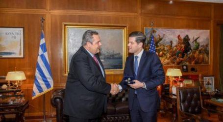 Η υπόθεση των δύο Ελλήνων στρατιωτικών στη συνάντηση Καμμένου- Μίτσελ