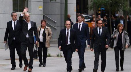 Σήμερα η απόφαση για τους προφυλακισμένους Καταλανούς υπουργούς