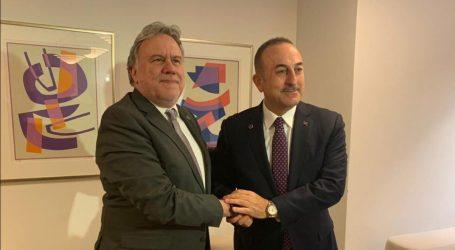 Συνάντηση Κατρούγκαλου – Τσαβούσογλου: Απόλυτη καταδίκη των μονομερών ενεργειών της Άγκυρας στην κυπριακή ΑΟΖ